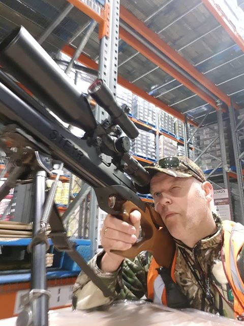 Precision shooting. Klaas is  your marksman!